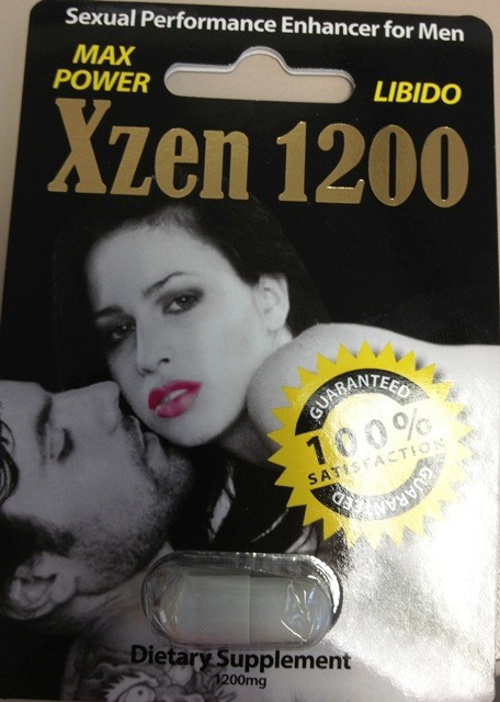 Image of the illigal product: Xzen 1200