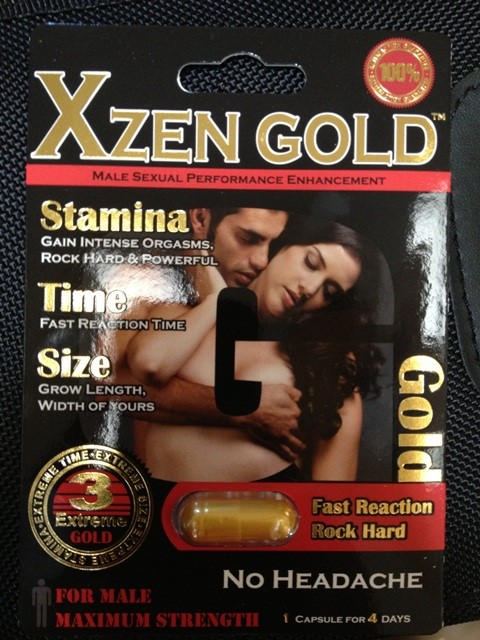 Image of the illigal product: Xzen Gold