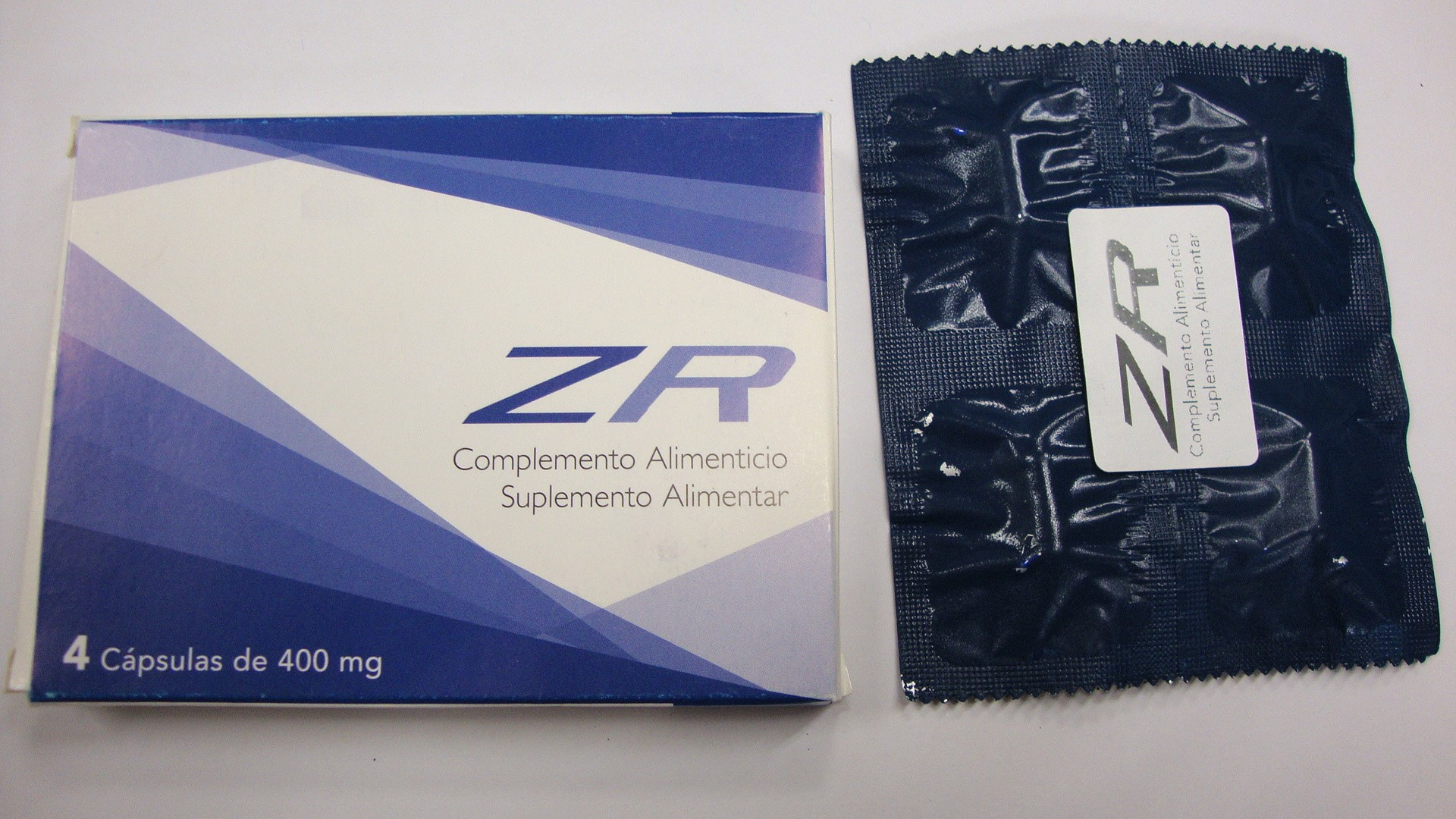 Image of the illigal product: ZR Capsules