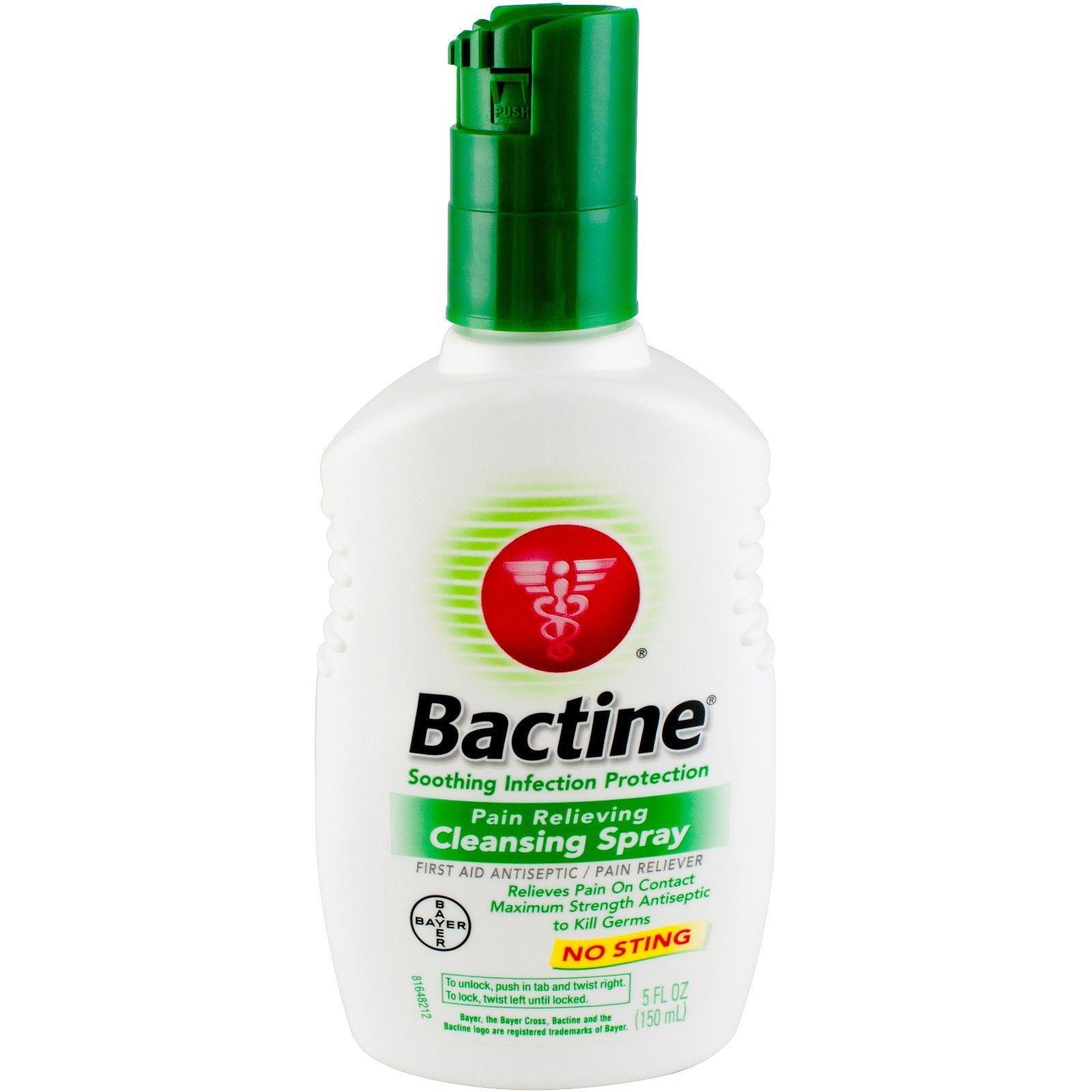 Billede af det ulovlige produkt: Bactine