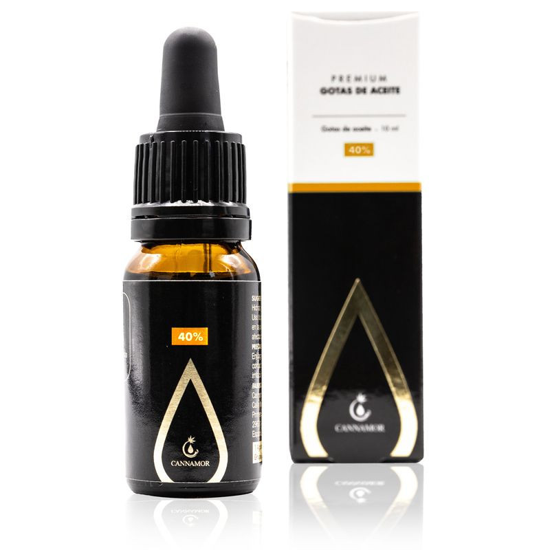 Image of the illigal product: Cannamor Premium CBD Oil 40%