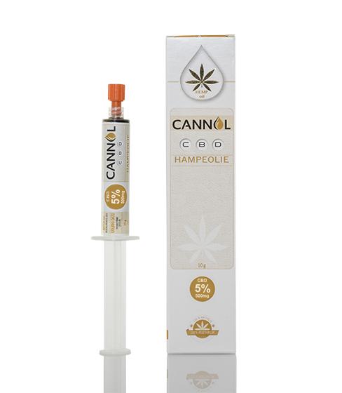 Billede af det ulovlige produkt: Cannol CBD Olie Pasta 5%