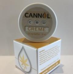 Billede af det ulovlige produkt: Cannol CBD Creme