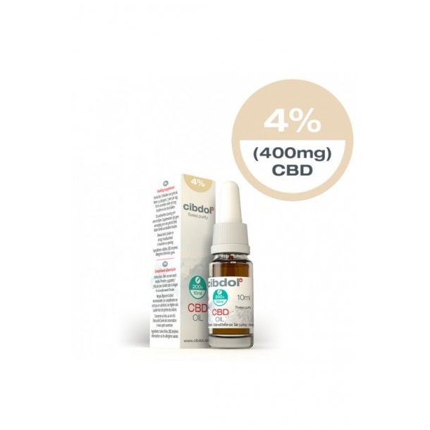 Image of the illigal product: Cibdol CBD Oil Normal 4%