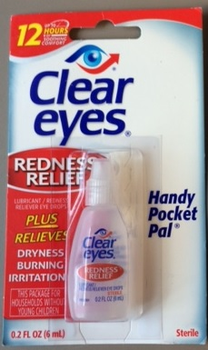 Image of the illigal product: Cleareyes Redness Relief