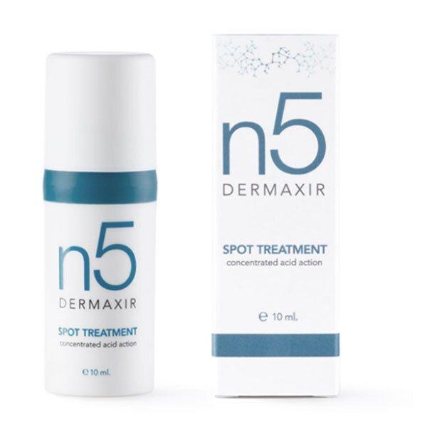 Billede af det ulovlige produkt: Dermaxir n5 Spot Treatment