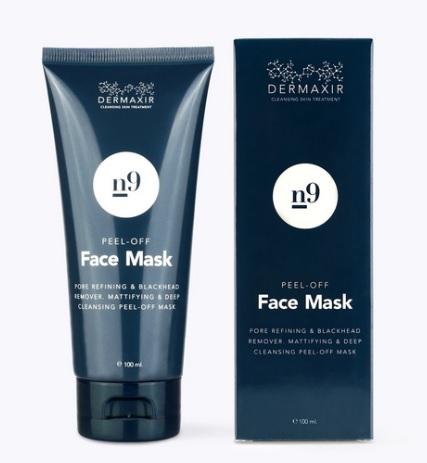 Billede af det ulovlige produkt: Dermaxir n9 Peel-Off Face Mask