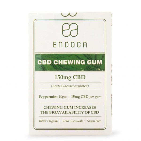 Image of the illigal product: ENDOCA CBD Chewing Gum 15mg