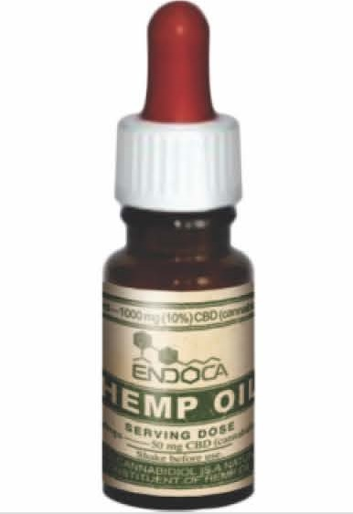 Image of the illigal product: ENDOCA Hemp Oil Drops 10% (10 ml)