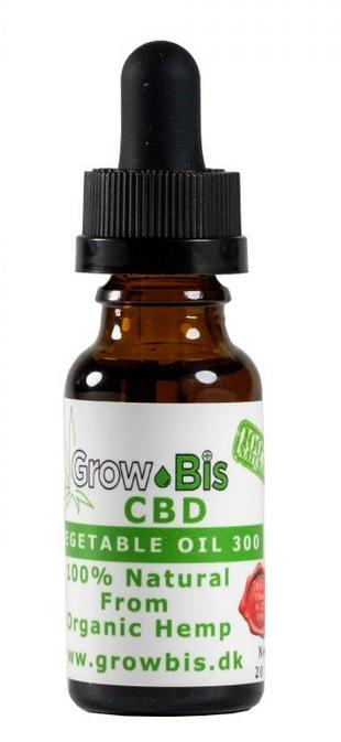 Billede af det ulovlige produkt: GrowBis CBD 300
