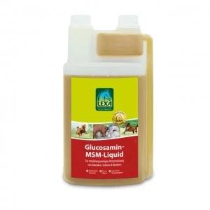 Billede af det ulovlige produkt: Lexa Glucosamin MSM Liquid