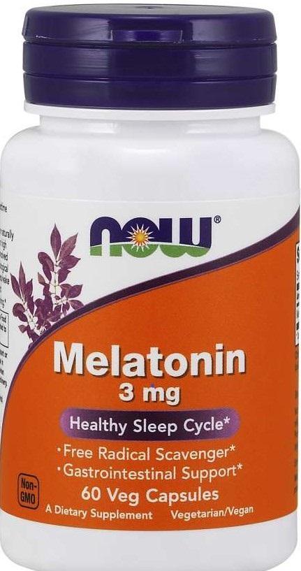 Billede af det ulovlige produkt: NOW Melatonin