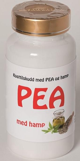 Billede af det ulovlige produkt: PEA med Hamp