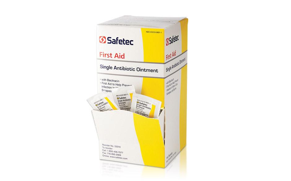 Billede af det ulovlige produkt: Single Antibiotic Ointment (Bacitracin)