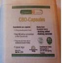 Billede af det ulovlige produkt: Scandinavia Hemp CBD Capsules (5 mg)