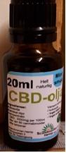 Billede af det ulovlige produkt: Scandinavian Hemp CBD-Ojla 2%