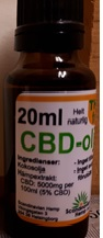 Image of the illigal product: Scandinavian Hemp CBD-Ojla 5%
