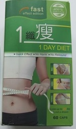 Image of the illigal product: 1 Day Diet