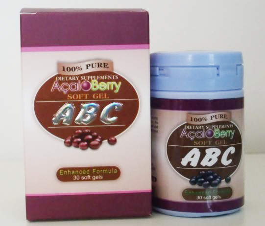 Image of the illigal product: Acai Berry ABC