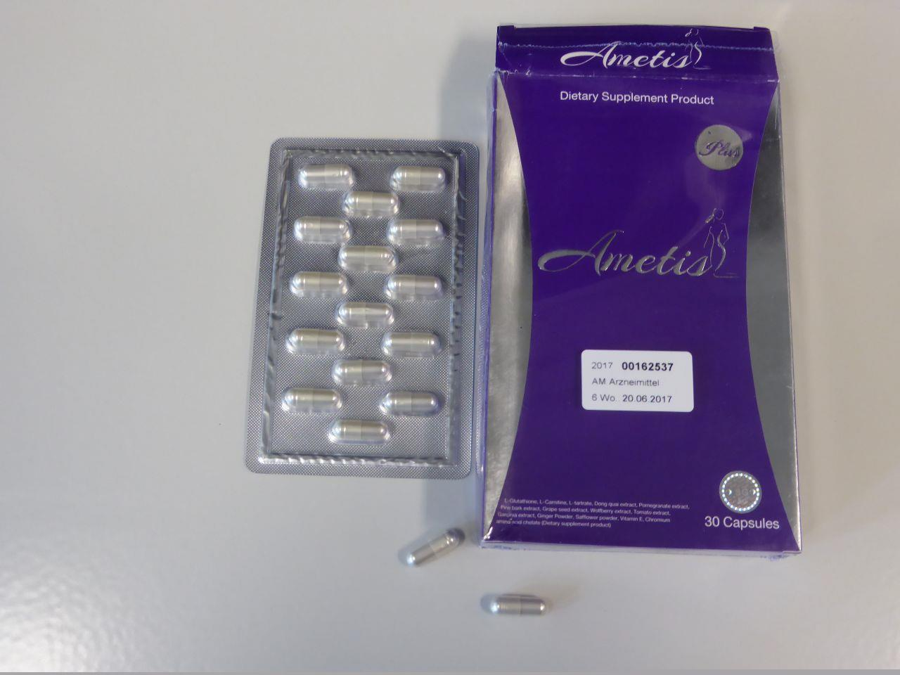 Image of the illigal product: Ametis Plus