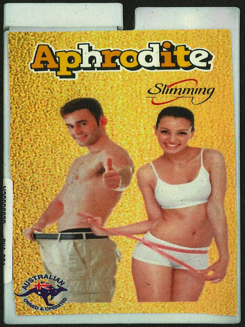 Image of the illigal product: Aphrodite Slimming Capsule