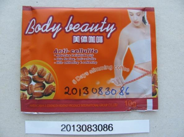 Image of the illigal product: Body Beauty - 5 Days Slimming Coffee