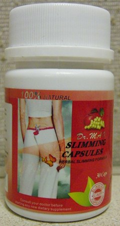 Image of the illigal product: Dr. Mao Slimming Capsules