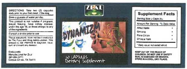 Image of the illigal product: Dynamizm