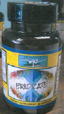 Image of the illigal product: Eradicate
