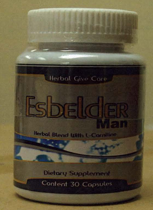 Image of the illigal product: Esbelder Man