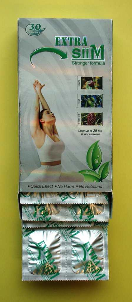 Image of the illigal product: Extra Slim Stronger Formula