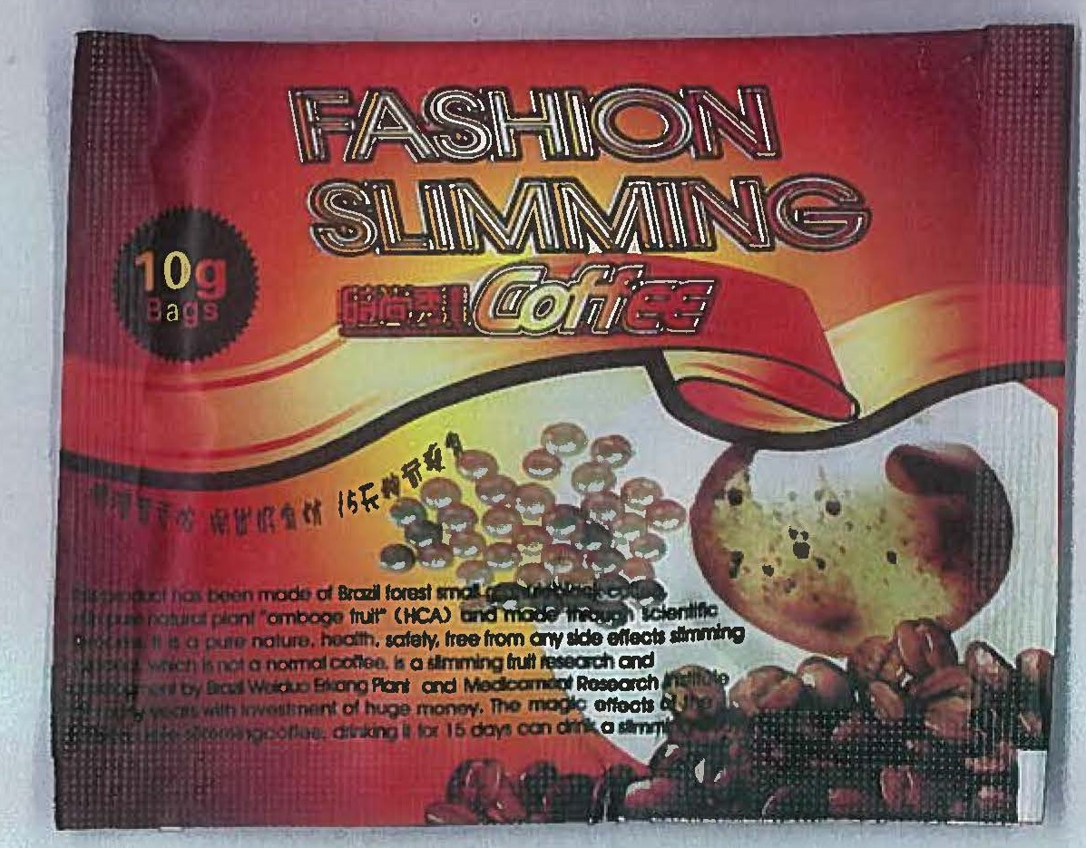 Image of the illigal product: Fashion Slimming Coffee