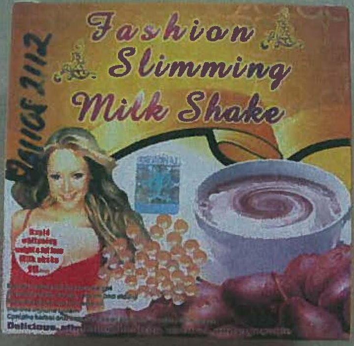 Image of the illigal product: Fashion Slimming Milk Shake