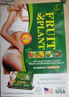 Image of the illigal product: Fruit & Plant Slimming