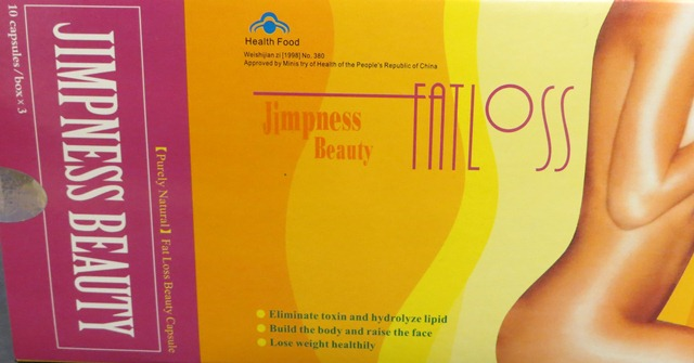 Image of the illigal product: Jimpness Beauty Fat Loss