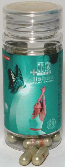 Image of the illigal product: Lishou Fuling Jiaonang