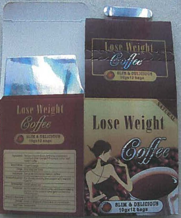 Image of the illigal product: Lose Weight Coffee