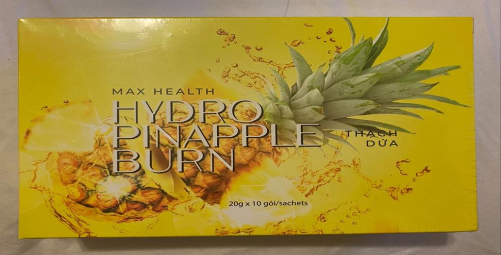 Image of the illigal product: Max Health Hydro Pineapple Burn
