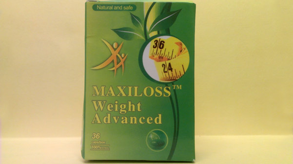 Image of the illigal product: Maxiloss Weight Advanced