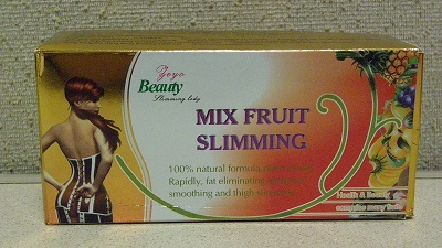 Image of the illigal product: Mix Fruit Slimming