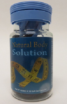 Image of the illigal product: Natural Body Solution