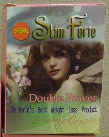 Image of the illigal product: Slimforte Slimming Capsules