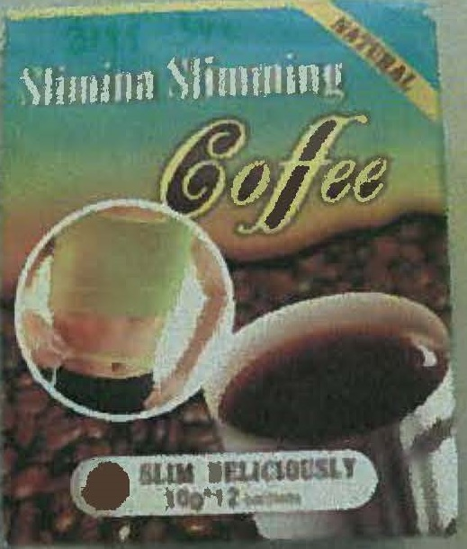Image of the illigal product: Slimina Slimming Coffie