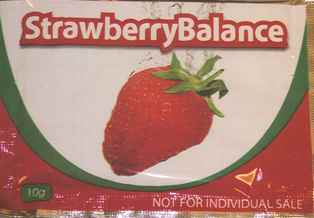 Image of the illigal product: Strawberry Balance