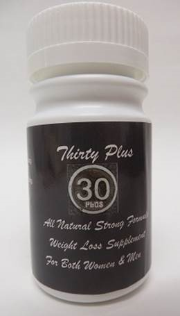 Image of the illigal product: Thirty Plus