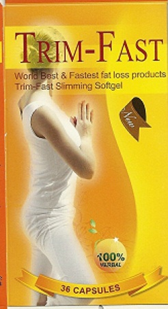 Image of the illigal product: Trim Fast Slimming Softgel