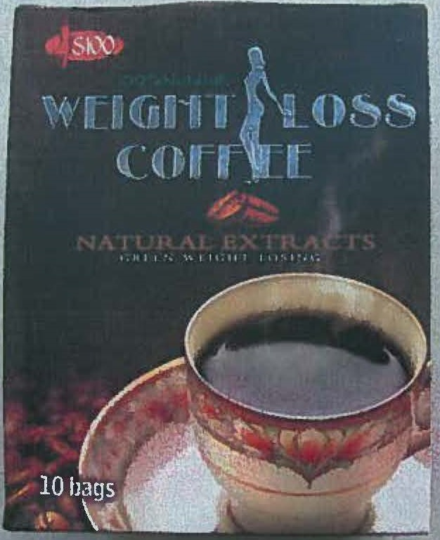 Image of the illigal product: Weight Loss Coffee