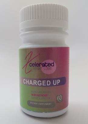 Billede af det ulovlige produkt: Xcelerated weight loss Charged Up