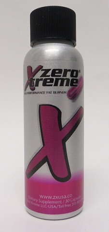 Image of the illigal product: Zero Xtreme capsules